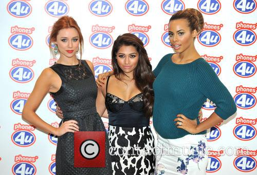 Una Healy, Rochelle Humes and Vanessa White 2