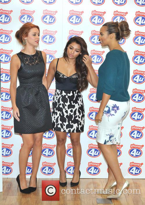 Una Healy, Rochelle Humes and Vanessa White 3