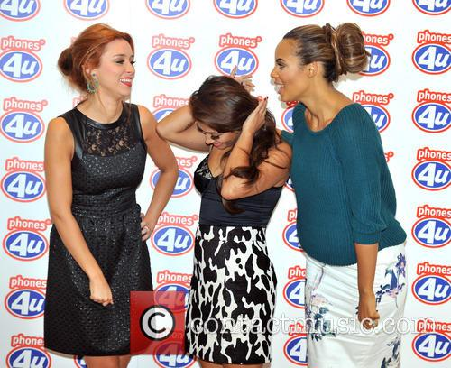 Una Healy, Rochelle Humes and Vanessa White 4