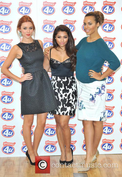 Una Healy, Rochelle Humes and Vanessa White 6