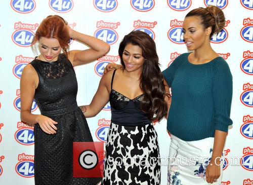 Una Healy, Rochelle Humes and Vanessa White 7