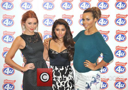 Una Healy, Rochelle Humes and Vanessa White 8