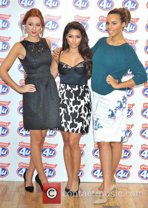 Una Healy, Rochelle Humes and Vanessa White 10