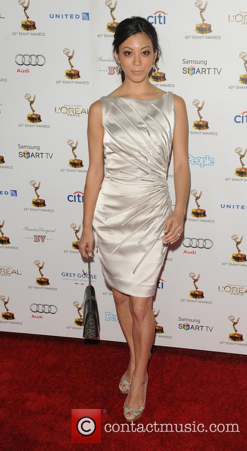 Brittany Ishibashi, Spectra by Wolfgang Puck at the the Pacific Design Center, Emmy Awards