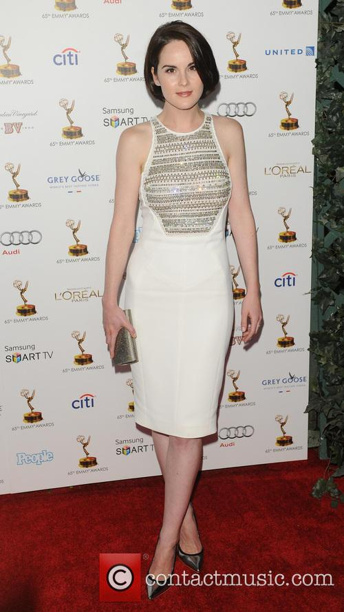 Michelle Dockery, Spectra by Wolfgang Puck at the the Pacific Design Center, Emmy Awards