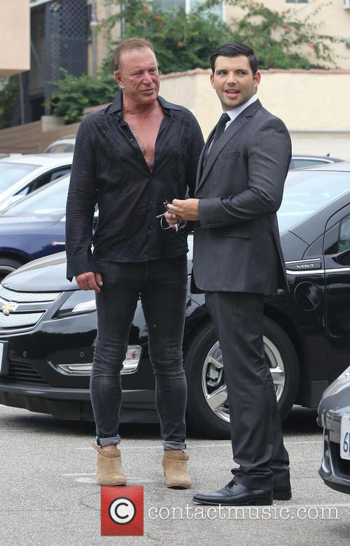 mickey rourke celebrities attend a party at 3875527