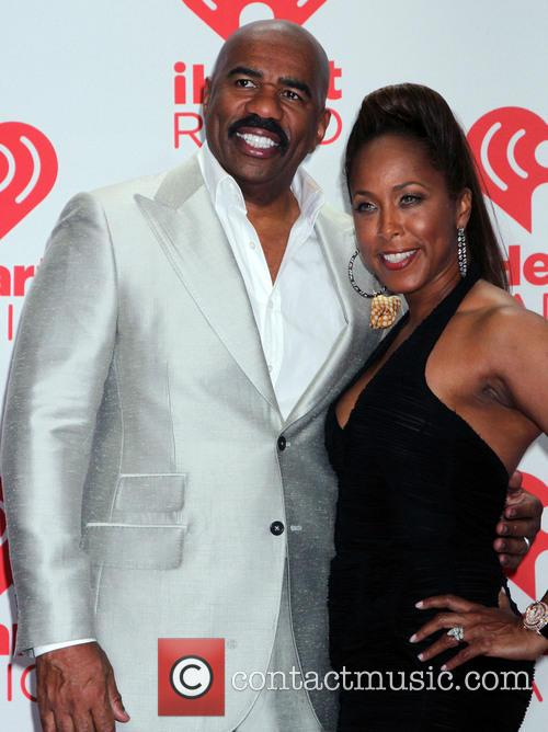 Steve Harvey and Marjorie Harvey 1