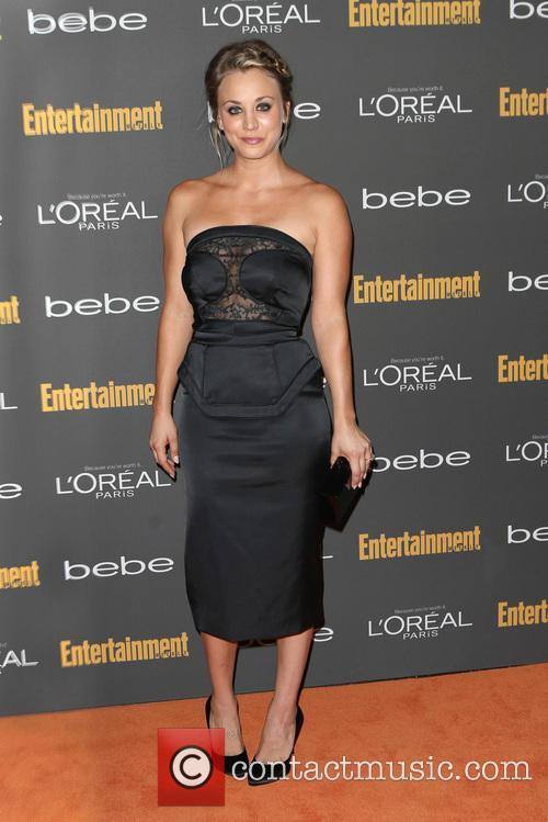 Kaley Cuoco pre-Emmys