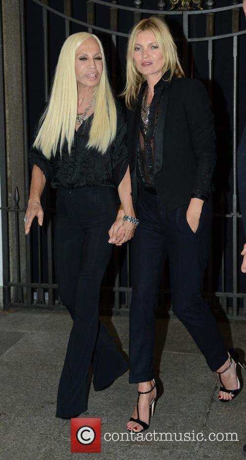 Kate Moss and Donatella Versace 11