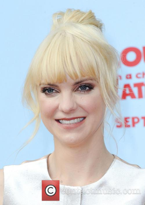 anna faris la premiere of cloudy with 3876169
