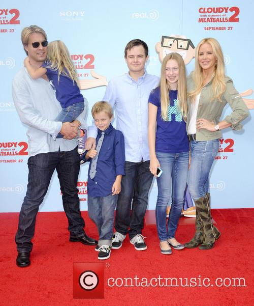 Gena Lee Nolin, Cale Hulse, Spencer Fahlman, Stella Monroe Hulse and Hudson Lee Hulse 2