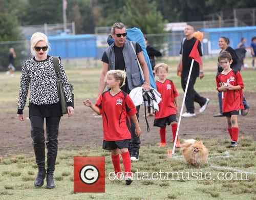 Gwen Stefani, Gavin Rossdale and Kingston Rossdale 3