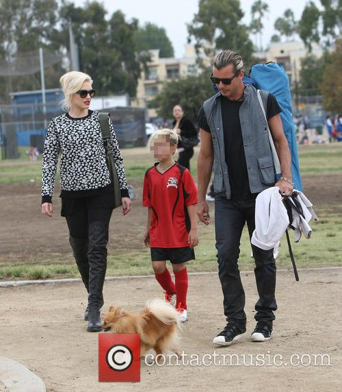 Gwen Stefani, Gavin Rossdale and Kingston Rossdale 5
