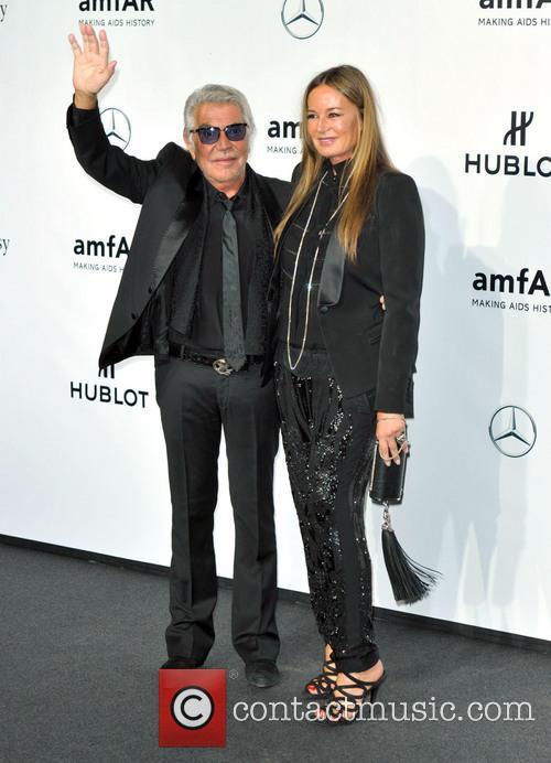 Roberto Cavalli and Eva Cavalli