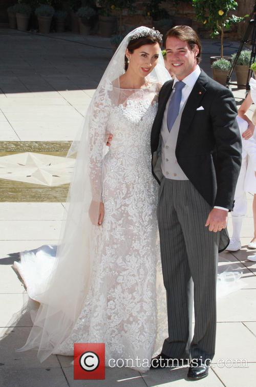 Claire Lademacher and Prince Felix of Luxembourg 6