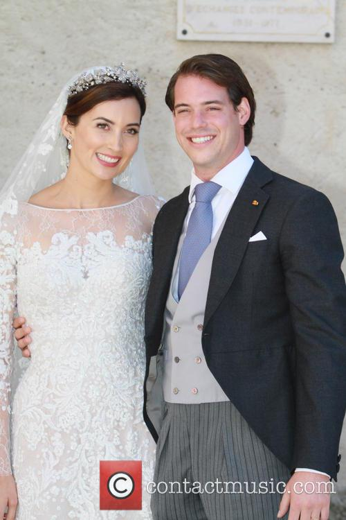 Claire Lademacher and Prince Felix of Luxembourg 8