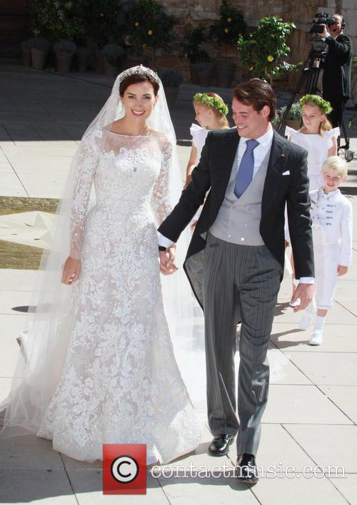Claire Lademacher and Prince Felix of Luxembourg 17