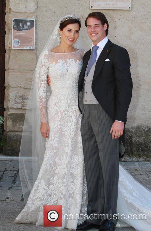 Claire Lademacher and Prince Felix of Luxembourg 23