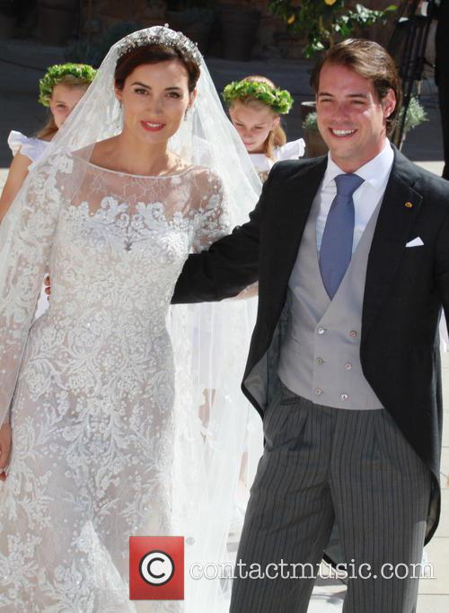 Claire Lademacher and Prince Felix of Luxembourg 27
