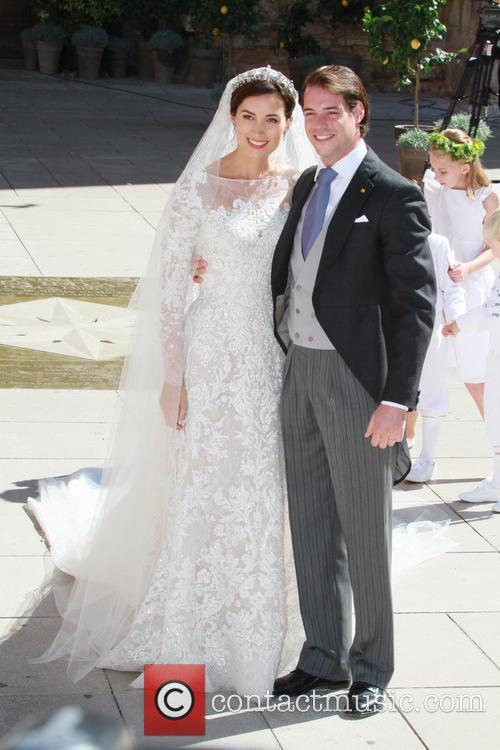Claire Lademacher and Prince Felix of Luxembourg 32