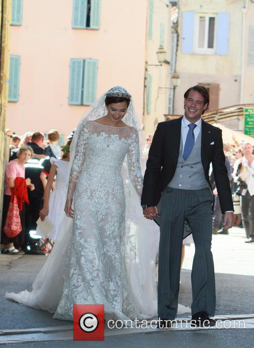 Claire Lademacher and Prince Felix of Luxembourg 38