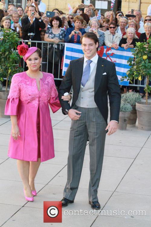 Grand Duchess Maria Theresa and Prince Felix 2