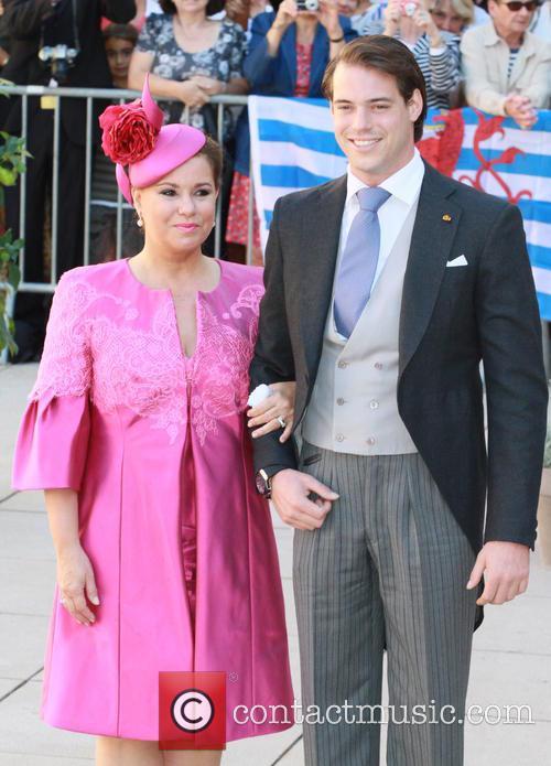 Grand Duchess Maria Theresa and Prince Felix 3