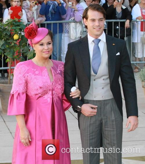 Grand Duchess Maria Theresa and Prince Felix 4