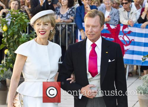 Grand Duke Henri Of Luxembourg and Gabriele Lademacher 1