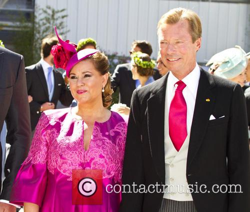 Henri, Grand Duke Of Luxembourg and Grand Duchess Maria Theresa 1