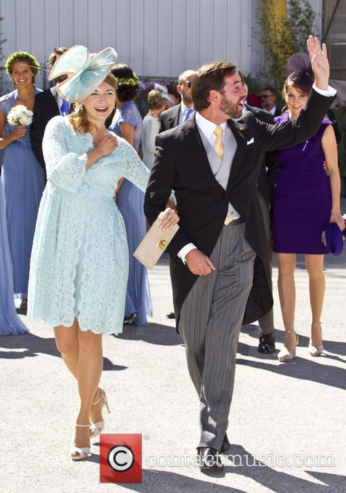 Prince Guillaume and Princess Stephanie 2