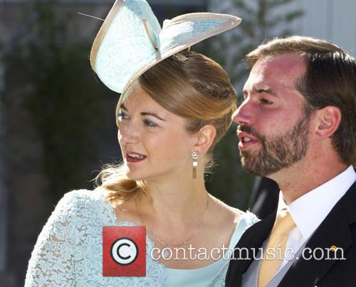 Prince Guillaume, Princess Stephanie, Olympia Hall