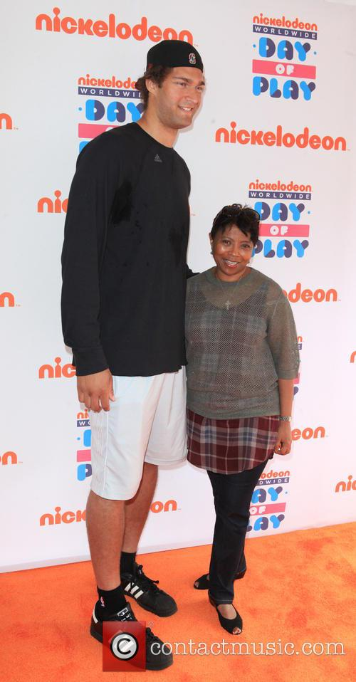 Brook Lopez and Marva Smalls 3