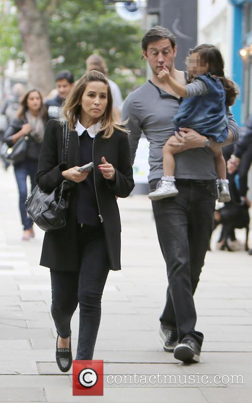 Rachel Stevens seen out shopping in North London