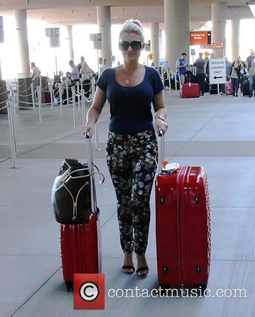 Billie Faiers, Mccarron International Airport