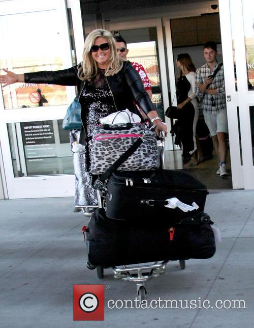 Gemma Collins, Mccarron International Airport