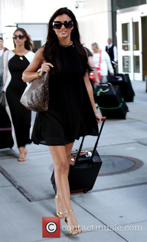 Lucy Mecklenburgh, Mccarron International Airport