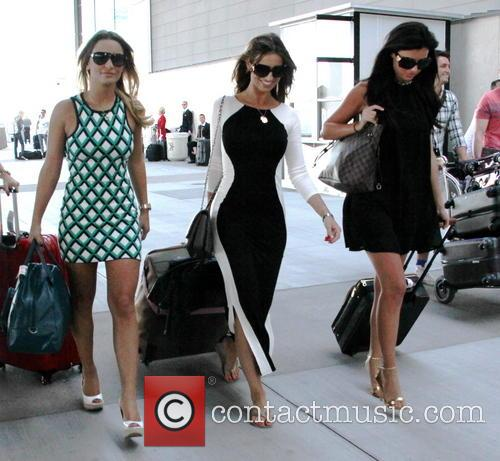 Sam Faiers, Ferne McCann, Lucy Mecklenburgh, Mccarron International Airport