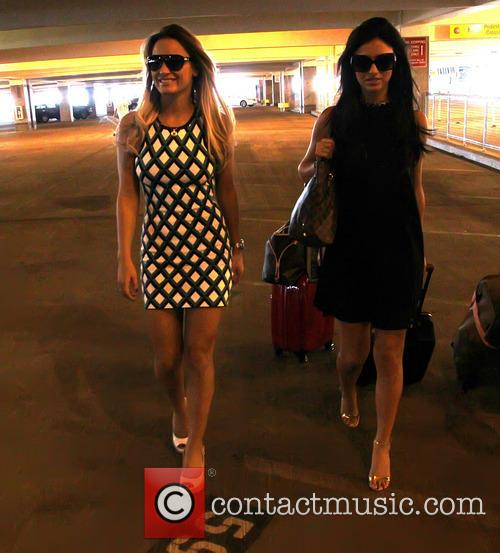 Sam Faiers, Lucy Mecklenburgh, Mccarron International Airport