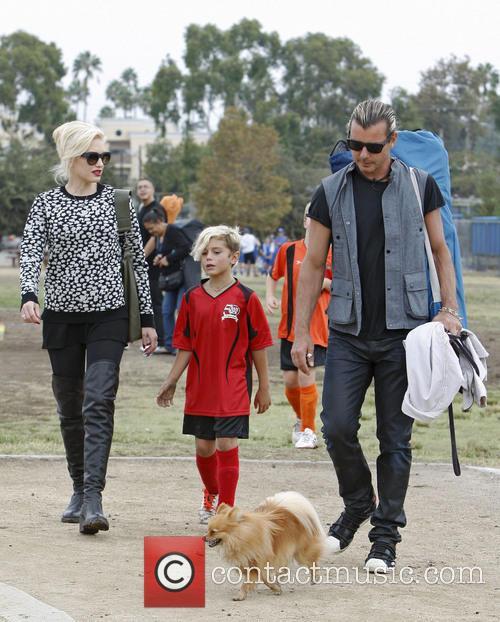 Gwen Stefani, Gavin Rossdale, Kingston Rossdale