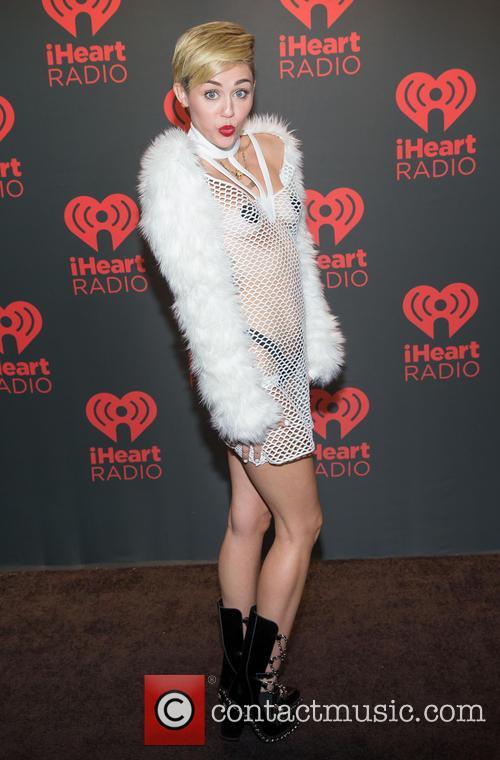 Miley Cyrus String Vest
