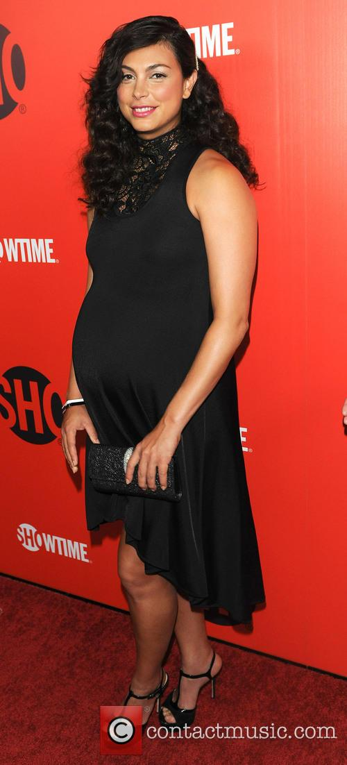 morena baccarin 2013 showtime emmy eve soiree 3876526