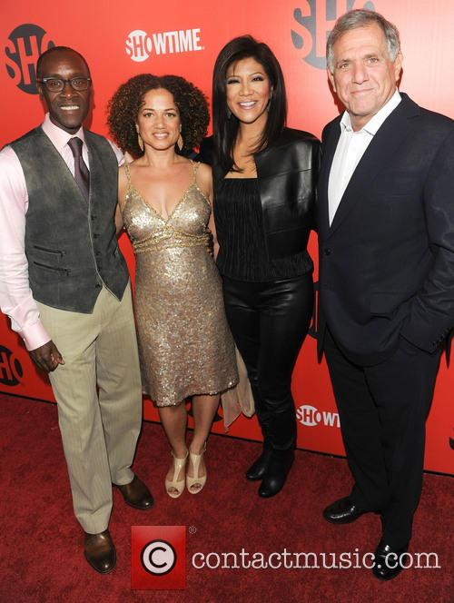 Don Cheadle and Julie Chen 3