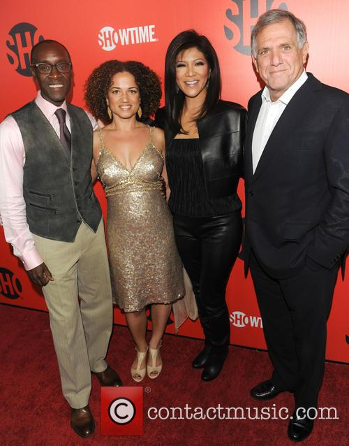 Don Cheadle and Julie Chen 6