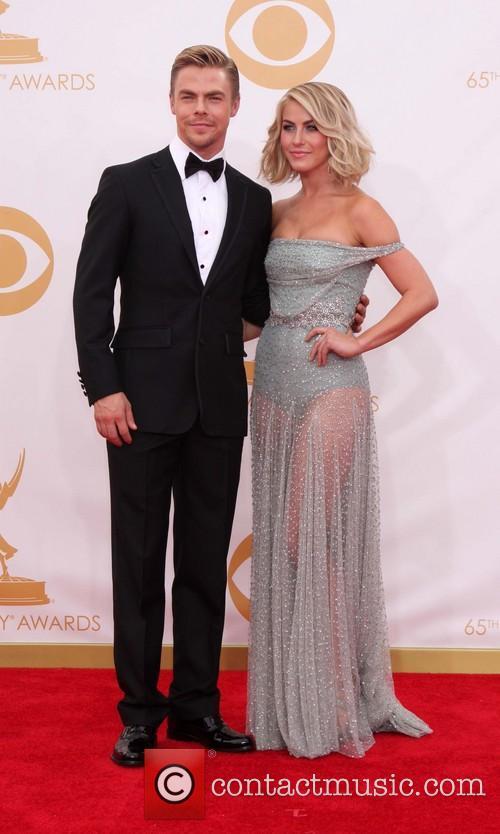 Derek Hough and Julianne Hough 1