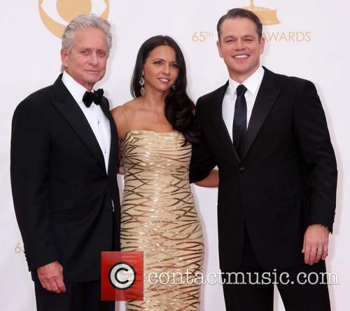 Michael Douglas and Matt Damon 2