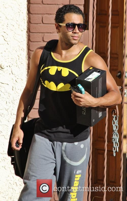Corbin Bleu, Dancing With The Stars Rehearsal Studios