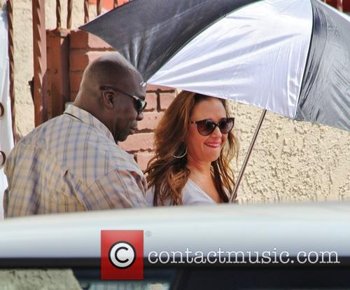 Leah Remini, Dancing With The Stars Rehearsal Studios