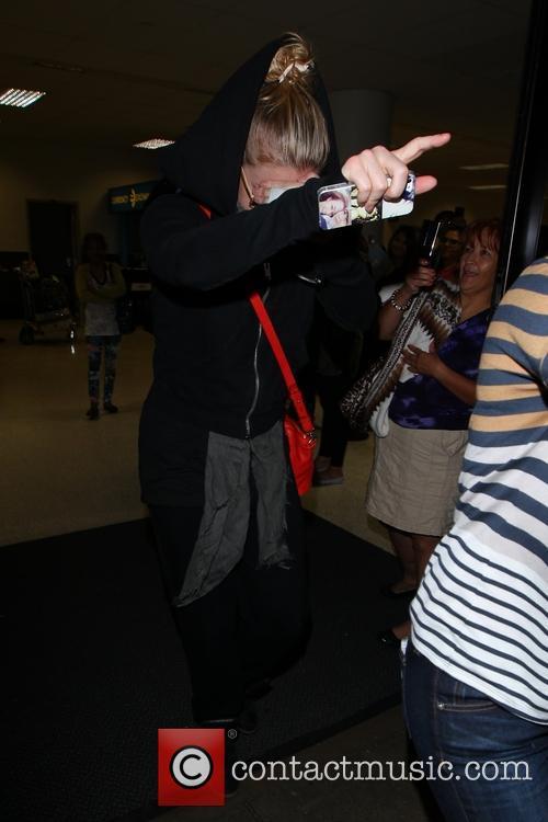 LeAnn Rimes At LAX