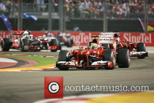 Felipe Massa and Fernando Alonso 2